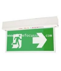 ป้ายไฟฉุกเฉินชนิด Slim line สองหน้าแบบ Wall หลอด LED รุ่น SLC288LED ยี่ห้อ Sunny