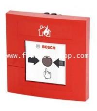 ตัวแจ้งเตือนด้วยมือ แบบทุบกระจกแล้วกดปุ่มสำหรับภายในอาคาร รุ่น FMC120-DMK-G-R ยี่ห้อ Bosch