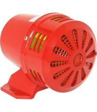 มอเตอร์ไซเรนไฟฟ้า 7.5 นิ้ว (Motor Siren) 12V, 24V, 220V ความดัง 116 dB  รุ่น LK-MX