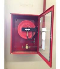 ตู้เก็บสายดับเพลิงชนิดยางสังเคราะห์ แบบแขวนลอย ขนาด 80x110x35 เฉพาะตู้