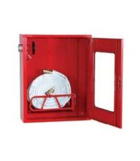ตู้เก็บสายส่งน้ำดับเพลิงชนิดผ้าใบแบบม้วน พร้อมฐานวางสาย 60x70x20 cm. (เฉพาะตู้)