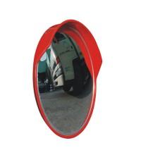 กระจกโค้งสะท้อนโพลีคาร์บอเนตแบบใช้ภายนอกอาคาร กว้าง 18 นิ้ว รุ่น CMO-45 ยี่ห้อ 6road