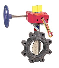 NIBCO Butterfly valve mod.LD3510-4, Ductile iron body, lug type,UL/FM for 250 psi.,ANSI 150
