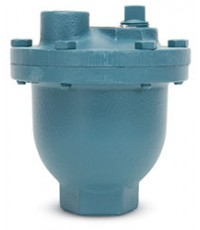 VALMATIC  Automatic Air Vent, 1 inch Model 15A, cast iron body.