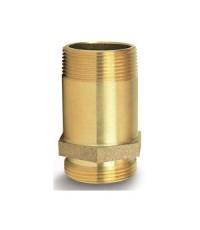 นิปเปิ้ลแล๊คทองเหลืองขนาด 1-1/2 inch. NPT x NPSH (ประเทศไทย)