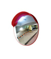 กระจกโค้งสะท้อนโพลีคาร์บอเนตแบบใช้ภายนอกอาคาร กว้าง 32 นิ้ว รุ่น CMO-90 ยี่ห้อ 6road