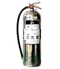 ถังดับเพลิงชนิดวอเตอร์แก๊ส (Water Gas) ตัวถังสแตนเลส ขนาด 6 ลิตร ยี่ห้อ FireMan