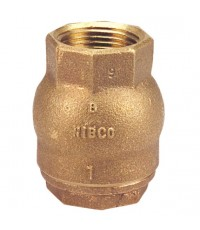 Nibco model T-480 Bronze check valve , NPT thread , 250 psi.