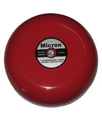 กระดิ่งเตือนไฟไหม้ขนาด 8 นิ้ว 220VAC.ยี่ห้อ Micron