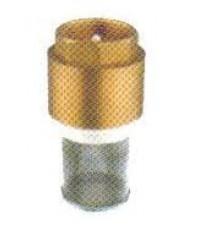 ฟุุตวาล์วทองเหลืองเช็ควาล์วในตัวตะแกรงสแตนเลสแบบเกลียวปะเกลียว รุ่น FV-1010 ยี่ห้อ KISTLER