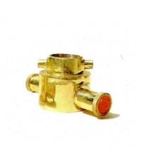 ข้อต่อข้างสองหู สวมเร็ว-เกลียวใน วัสดุทองเหลือง,อลูมิเนียม (Adaptor Male/Female Thread Brass)