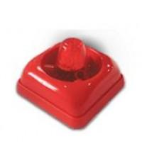 เสียงไซเรนพร้อมไฟกระพริบสีแดงห้องน้ำคนพิการ 12-24VDC. รุ่น KS-FS100A ยี่ห้อ OMSIN
