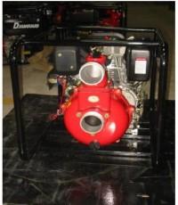 ปั๊มน้ำดับเพลิงแรงดันสูงดีเซล 7 แรงม้า สตาร์ทมือและกุญแจ รุ่น KPD301E ยี่ห้อ KATO