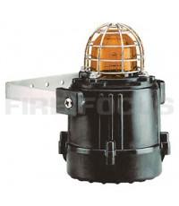 แฟลชกันระเบิด รุ่น E2xB05, แรงดัน 230V AC สีเหลือง (Strobe Effect) ยี่ห้อ E2S