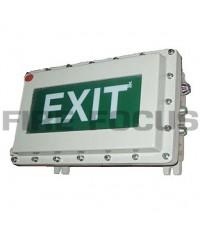 ป้ายทางออกกันระเบิดหลอดฟลูออเรสเซนต์ 1x26W รุ่น EEXT126C ยี่ห้อ BGM มาตรฐาน IEC60079-1