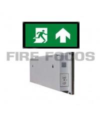 ป้ายไฟฉุกเฉินหลอด LED หน้าเดียว แบบกรอบรูป ไม่มีชุดรับสัญญาณรีโมทคอนโทรล รุ่น FR001 ยี่ห้อ Iversa