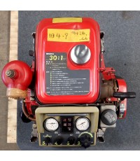 ปั๊มสูบน้ำดับเพลิงมือสอง43แรงม้า สตาร์ทมือพร้อมแบต(2) รุ่น P408R ยี่ห้อ RABBIT