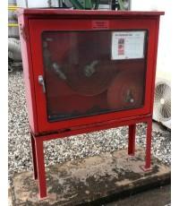 ตู้เก็บสายส่งน้ำดับเพลิงและอุปกรณ์นอกอาคาร 80x100x30 ขาตั้ง 50 cm.(ไม่รวมอุปกรณ์)
