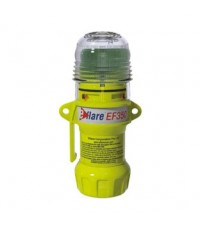 Explosion Proof LED, Flashing Beacon E-flare Series, Red, Portable