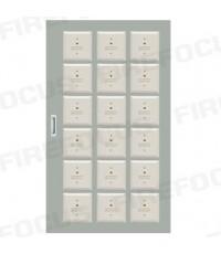 18 Modules (W54 x H92 x D12 CM) Local Box Module Panel with wiring terminal