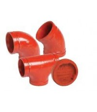 VICTAULIC Groove Fitting - 90\' ELBOW - 45\' ELBOW- TEE- CAP- FLANGE ADAPTER UL/FM
