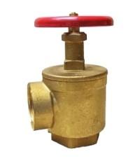 แองเกิ้ลวาล์ว(Angle Valve)ทองเหลืองขนาด 2-1/2 นิ้ว ชนิดเกลียวปะปา NST ผลิตในประเทศ