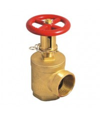 HUACHENG Angle Valve with PRESSURE RESTRICTING DEVICE, 2-1/2 inch.,Model. J282 UL/FM 300 PSI.