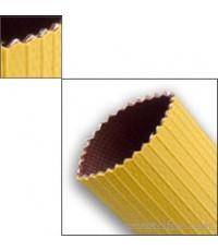 สายส่งน้ำดับเพลิงใยสังเคราะห์ไนไตรด์สีเหลือง 3 ชั้น ยี่ห้อ Gomtex มาตรฐาน UL ประเทศสเปน
