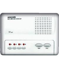 KOCOM KIC-304 Iintercom (Main 4CH), ใช้ Adaptor DC6V (battery) หรือ ใช้ถ่ำน AA 4 ก้อนได้
