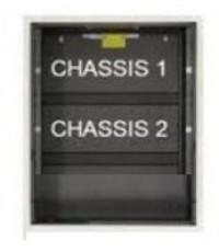 Backbox, 2 chassis, black รุ่น SBB-B4 ยี่ห้อ Notifier
