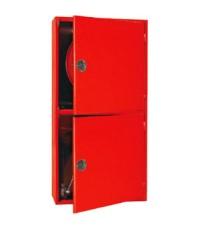 ตู้เก็บสายส่งน้ำดับเพลิง Fire Hose Reel พร้อมเก็บชุดวาล์ว Floor Control Valve Set (100+100)x80x35 cm