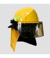 หมวกดับเพลิงวัสดุเทอร์โมพลาสติก รุ่น 1ST ยี่ห้อ IST