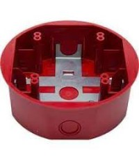SYSTEMSENSOR Ceilling Surface Mount Back Box, Red model.SBBCRL