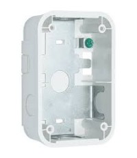 SYSTEMSENSOR Wall Surface Mount Back Box Compact, White model.SBBGWL