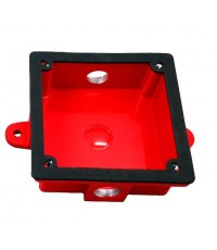 SYSTEMSENSOR Weatherproof back box for SSM and SSV series,model.WBB-1