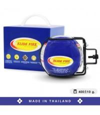 ลูกบอลดับเพลิง สำหรับติดตั้งในรถยนต์ ยี่ห้อ ELIDE FIRE สีน้ำเงิน