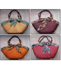 กระเป๋าสานแฟชั่น Handmade [NB-L]