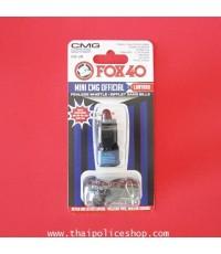 นกหวีด  Fox 40  Mini  CMG  สีดำ
