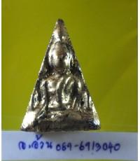 พระเนื้อดิน พืมพ์นางพญา ลงรักปิดทอง /8736
