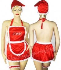 ชุดเซ็กซี่คริสมาสคอสตูม Sexy Christmas Costume 3pieces.