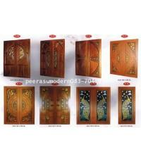ประตูไม้สักคู่แคตตาล็อค แพร่ เครือไทย2
