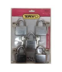 Tay กุญแจมาสเตอร์คีย์ 50 mm. 5 ตัว-ชุด