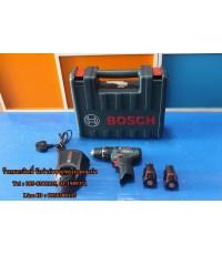 สว่านกระแทกไร้สาย Bosch GSB 10,8-2-LI