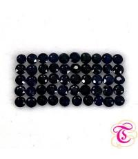 พลอยไพลินดำ ( Blook Sapphire ) 1.60  กะรัต