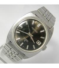 1970 นาฬิกาญี่ปุ่น SEIKO M66 ไขลานหน้าปัดดำเดินดีน่าใช้