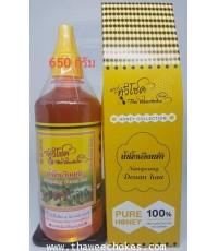 น้ำผึ้งเดือนห้า ขนาดบรรจุ 650 กรัมเท่ากับ 450 มิลิลิตร ไม่รวมค่าขนส่ง