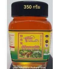 น้ำผึ้งเดือนห้า 350 กรัม ขวดแก้ว ไม่รวมค่าขนส่ง 6x8x11 cm