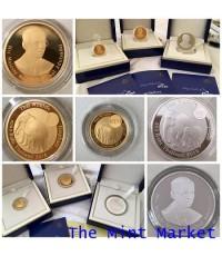 ชุดเหรียญกษาปณ์ที่ระลึกขัดเงา ช้างไทยแม่ลูก (3 เหรียญ) ปี 2559