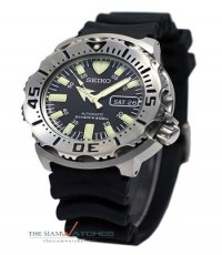 Seiko Divers Automatic Rubber Strap Black Monster SKX779 , SKX779K3