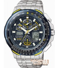 Citizen quot;Blue Angels Skyhawk Titanium Eco-Drive JY0050 , JY0050-55L